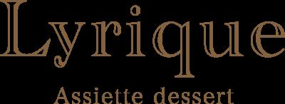 アシェットデセール専門店「Lyrique」